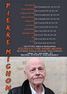 Atelier-lecture Pierre Michon