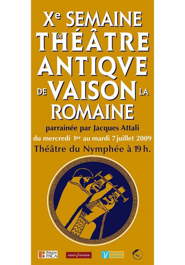 Xème Semaine de Théâtre Antique de Vaison-la-Romaine