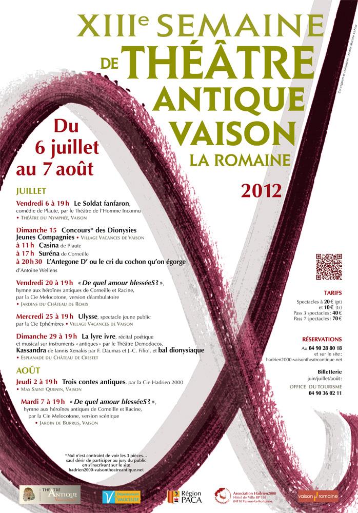 XIIIème Semaine de Théâtre Antique de Vaison-la-Romaine