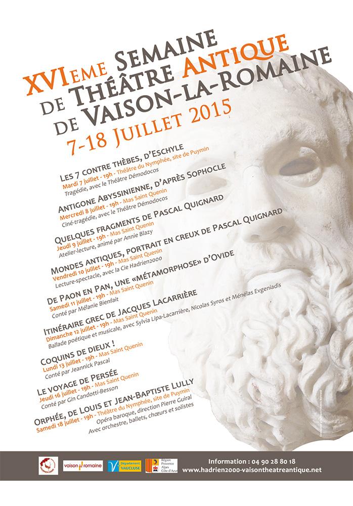 XVIème Semaine de Théâtre Antique de Vaison-la-Romaine
